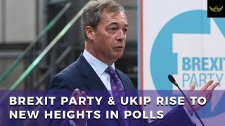 Nigel Farage stuns political elite, as Brexit Party and UKIP surge in polls