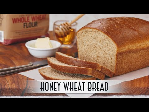 Honey Wheat Bread | Straight Dough Method