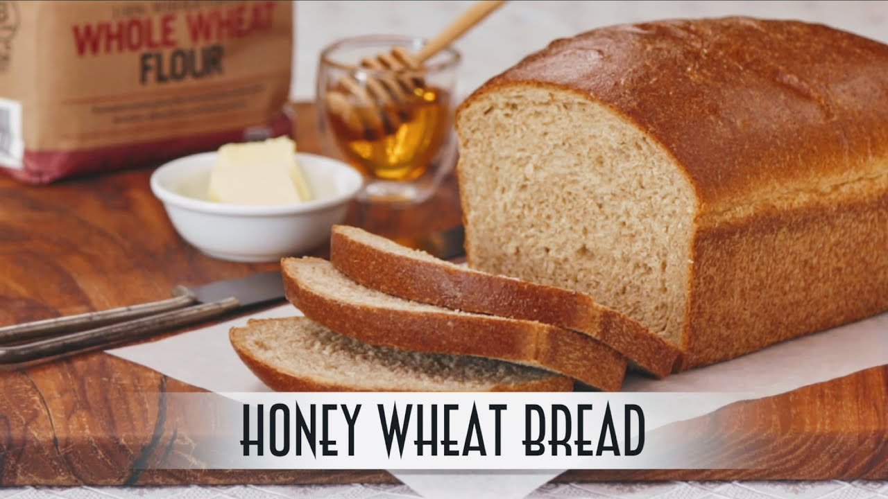Honey Wheat Bread | Straight Dough Method