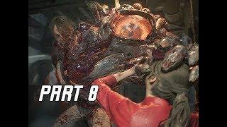 RESIDENT EVIL 2 REMAKE Walkthrough Part 8 - Anti-Virus (Let's Play RE2 Remake)