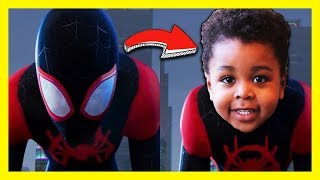 Spider-Man Funny Silly Fun Spiderman Video For Kids | Pretend Play