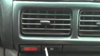 Subaru forester замена лампочки аварийной кнопки