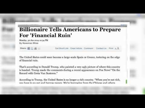 Dollar Collapse Warning Global Economic Crisis USA Financial Meltdown 2014 Martial Law