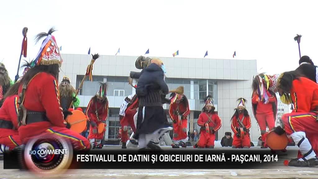 FESTIVALUL DE DATINI SI OBICEIURI DE IARNA - PASCANI 2014, PART 2