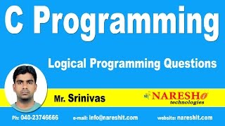Logical Programming Questions on C | C Language Tutorial