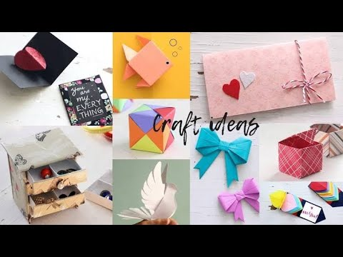 how-to-make-paper-things-diy-paper-craft-ideas