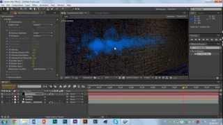 Видеоурок по созданию летящих частиц