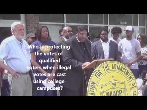 2012 Voter Fraud in Pasquotank County, North Carolina
