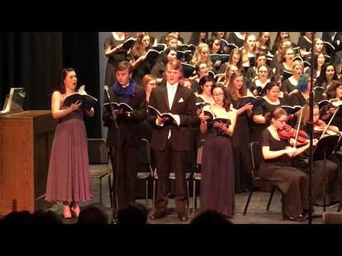 "Lehigh Valley Charter High School for The Arts, ""Domine Jesu"" - 5/10/2016"
