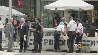 Traffic Diverted Near Trump Tower As President Returns To NYC