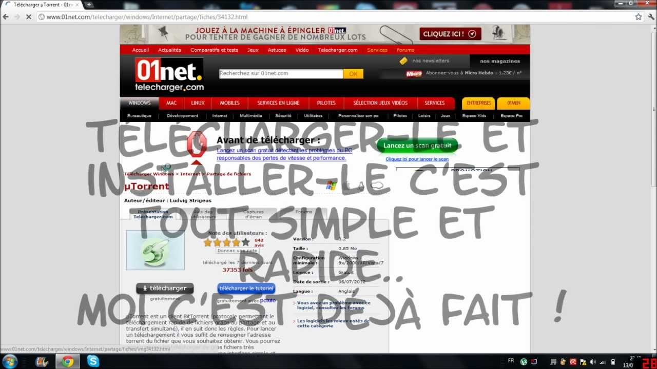 emule 2012 gratuit sur 01net