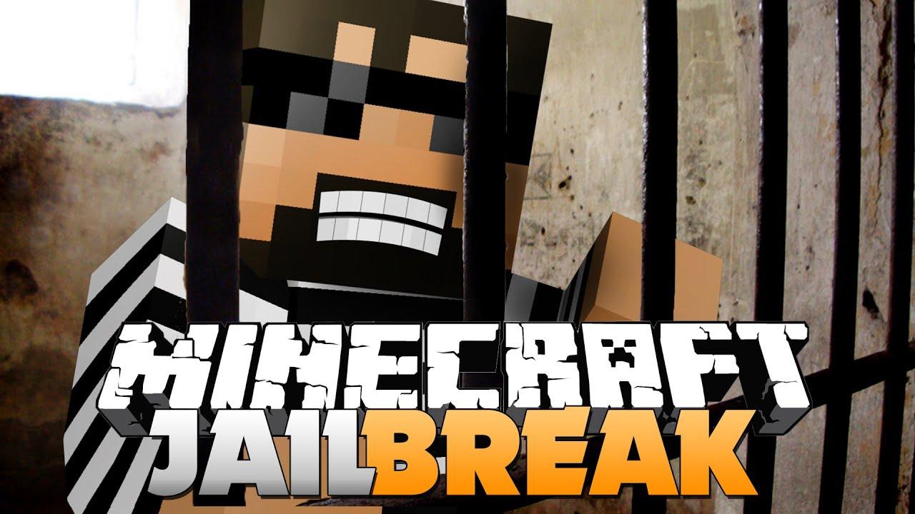 MinecraftJAIL BREAK BACK IN PRISON 1 YouTube