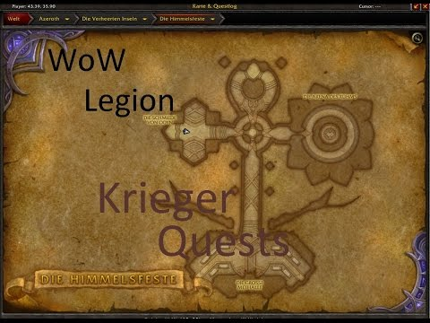 Izocke Wow Legion Klassenquests Krieger 054 Champions Der
