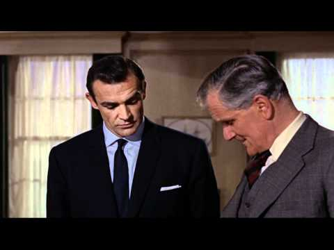 First Appearance of Desmond Llewelyn as Q  From Russia With Love HD