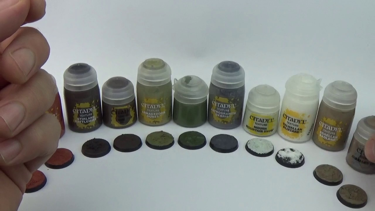 Warhammer 40K Painting Modelling Review CITADEL TEXTURE PAINT
