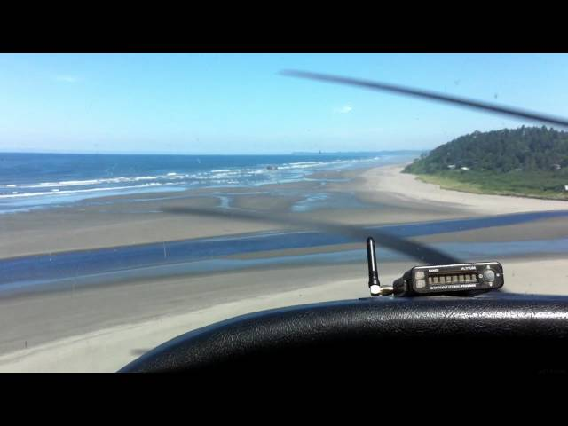 Landing at Copalis State Airport (S16)