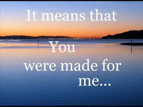 """You Were Made For Me"" Augustana"