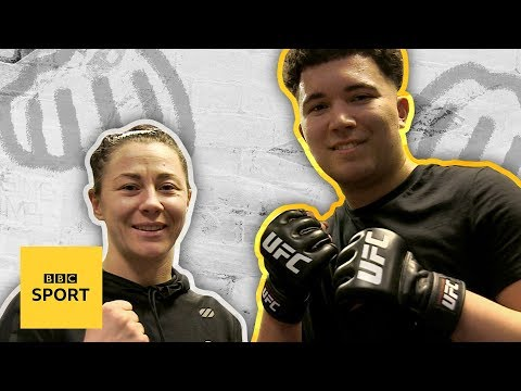 Could you last three rounds with a UFC fighter? - BBC Sport