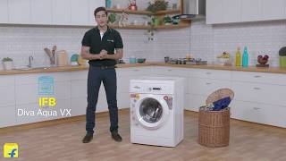 Diva Aqua Review II IFB 6 kg Fully Automatic Front Load Washing Machine (Diva Aqua VX)