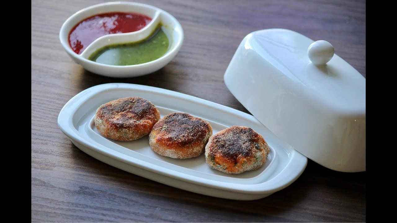 Sweet Potato/Ratalu Cutlets - Snehal\'s Kitchen - YouTube