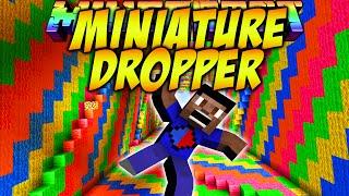 Minecraft MINIATURE DROPPER with Vikkstar, Jerome & Mitch (Minecraft Dropper Map)