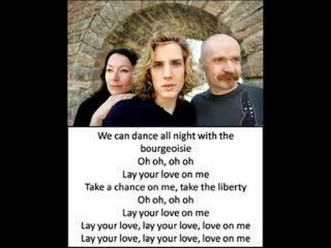 Lay All Your Love On Me Lyrics - YouTube