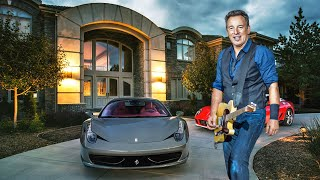 Bruce Springsteen's Lifestyle ★ 2020  Wife, Net Worth, Biography