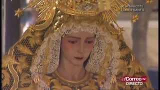 María Stma. del Rocío (La Redención).- Saeta Manuel Cuevas (Rey D. Felipe VI)
