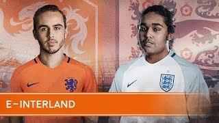 Eerste e-interland ooit: Nederland - Engeland