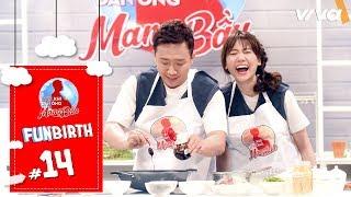 Nấu ăn là phải sang chảnh như Trấn Thành và Hari Won | FunBrith #14