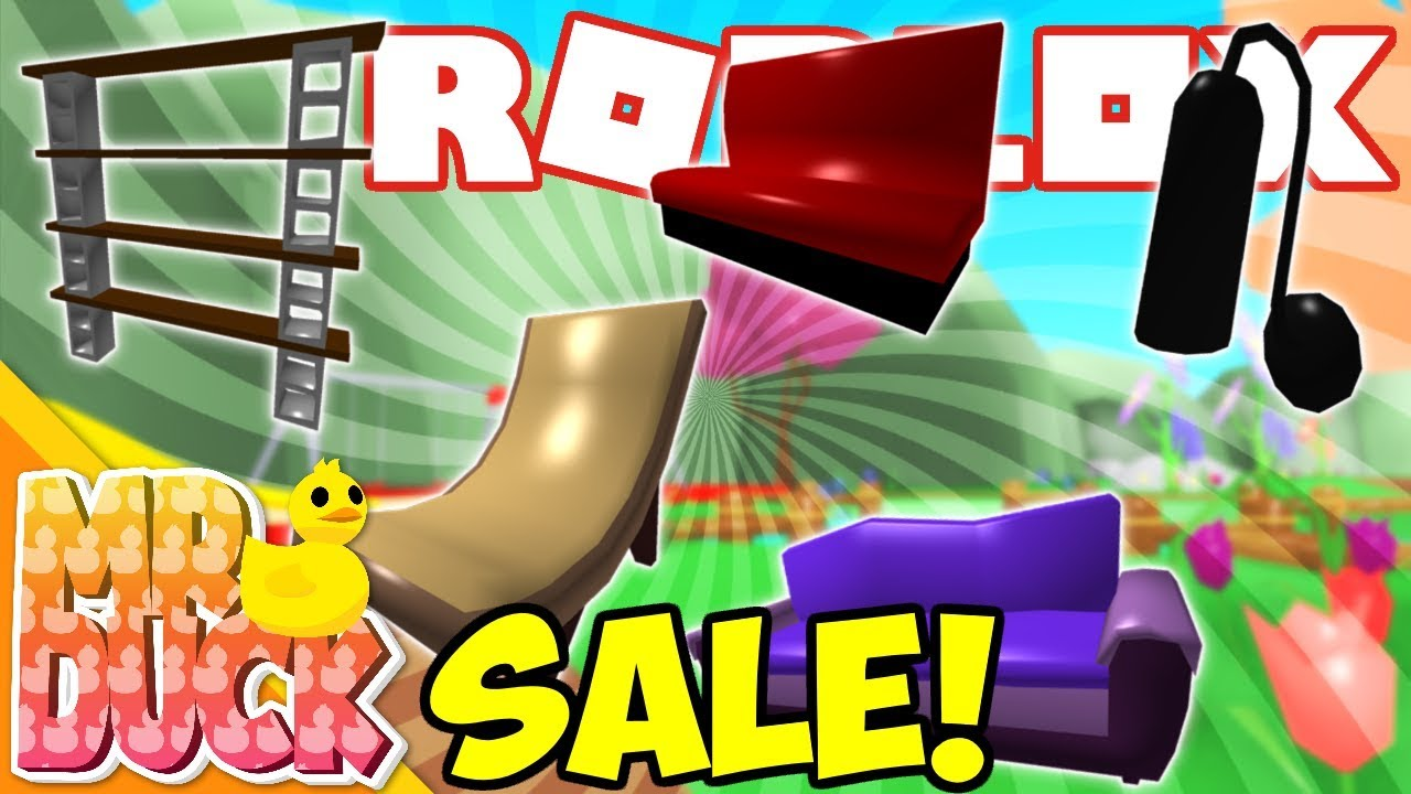 How To Sell Things On Meep City Roblox New Furniture Sale Roblox Meepcity Update Youtube