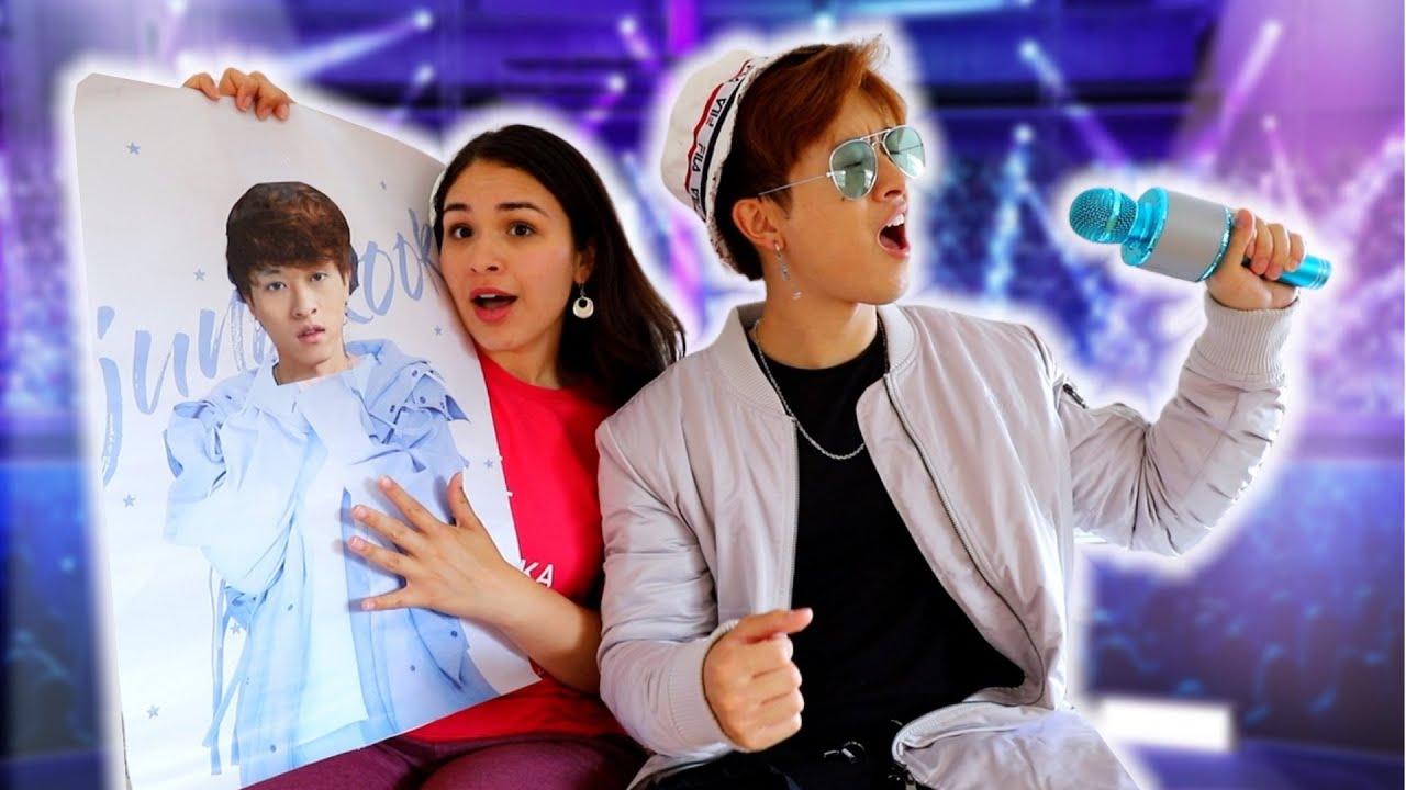 If Your BOYFRIEND Was A K-POP IDOL | Smile Squad Comedy