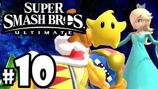 Super Smash Bros Ultimate - Rosalina & Luma Guide - VS Dedede - Switch Gameplay Walkthrough PART 10
