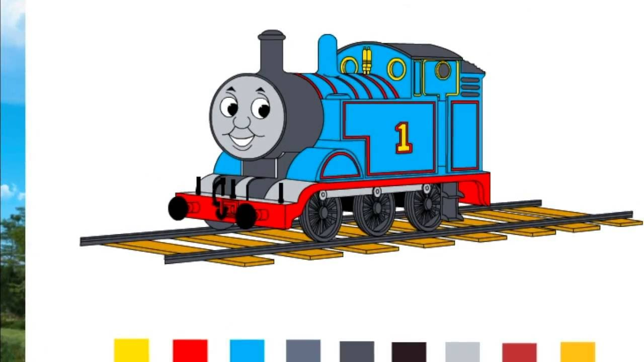 thomas u0026 friends coloring book pages color surprises youtube