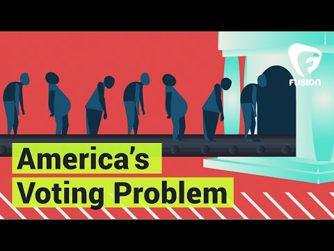 On National Voter Registration Day We Look at America's Voting Problem