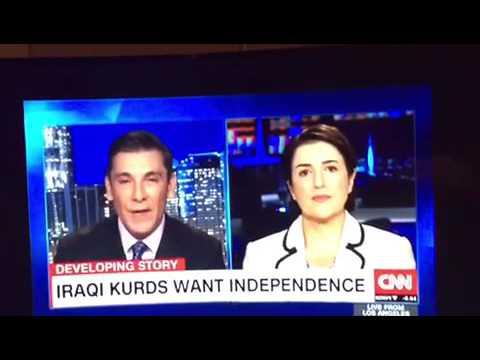 Bayan Sami Abdul Rahman interview with CNN