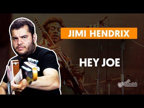 HEY JOE - Jimi Hendrix  Como tocar na guitarra
