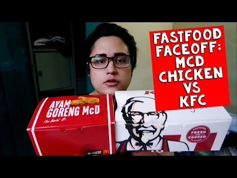 FASTFOOD FACEOFF: McDonald's Fried Chicken vs KFC