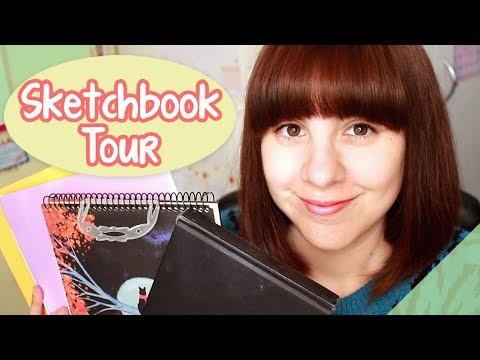 Sketchbook Tour 😊