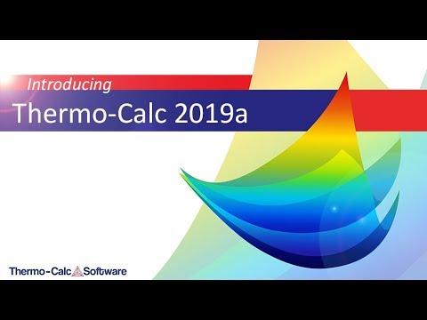 Introducing Thermo-Calc 2019a - Thermo-Calc BlogThermo-Calc Blog
