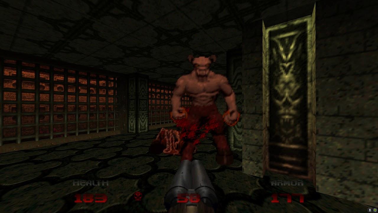 Doom 64 - Lost Levels: (Map 37) Wretched Vats - 100% Kills / Items ...