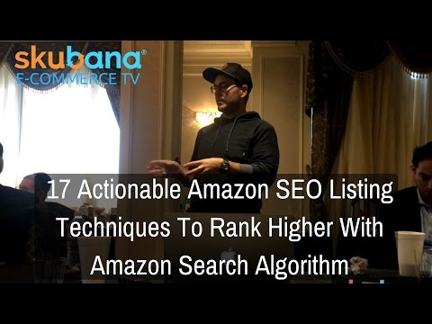 17 Actionable Amazon SEO Listing Techniques To Rank Higher With Amazon Search Algorithm