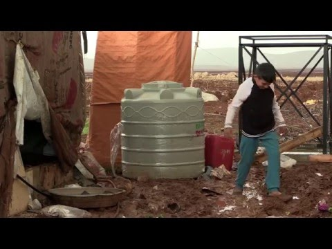 Syria Crisis: Winter in Lebanon's Bekaa Valley - Oxfam is there