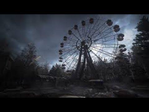 Призрак в заброшке...Чернобыль...(часть 1)