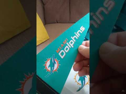 pretty nice 49e8b 63f99 Miami Dolphins Fan Pack!!! Lot's Of Cool Stuff!!! 5/17/2019
