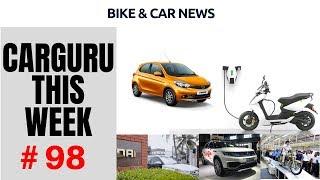 CARGURU This Week #98,Bike & Car News from Tata, Mahindra, Hyundai, Royal Enfield & Ather Energies.