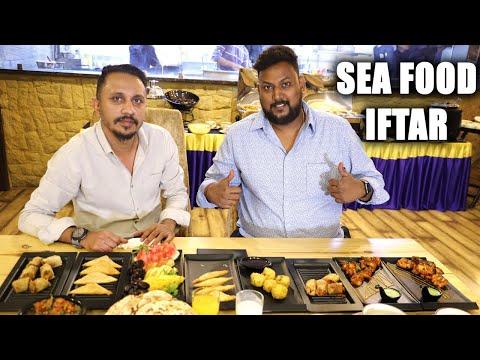 Sea Food Iftar in Hyderabad   Fish Haleem   Sea Food Buffet in Hyderabad