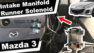 Intake Manifold Runner Control Stuck Open | Prines