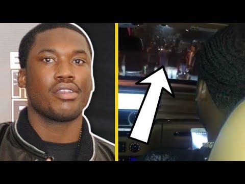 """Meek Mill """"Footage Minutes Before Getting Arrested In NYC"""""""