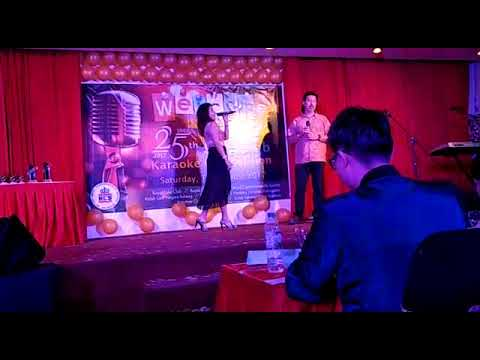 Inter Club Karaoke Competition at RCS on 19/08/2017 by our duet Eddy & Susan